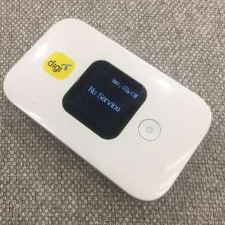 Mifi 4G Wifi hotspot modem group travel over sea
