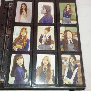 WJSN Gugudan Lovelyz Twice Photocard Official