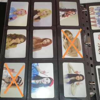 EXID 4MINUTE Dal shabet After School Jewelry Sistar Secret f(x) Rainbow Photocard Official
