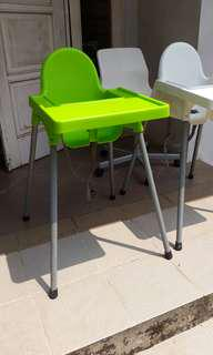 Informa baby chair green
