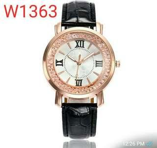 Women Flowing Beads Watch W1363