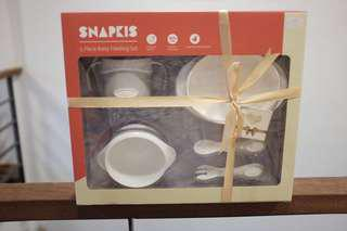 Snapkis baby feeding set