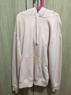 H&M baby pink hoodie