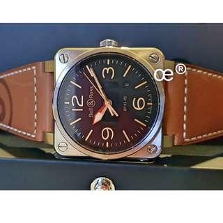 Bell & Ross BR03-92-S Golden Heritage 42mm