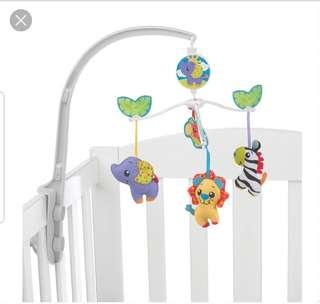 Playgro Jungle Friends Crib Mobile