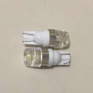 White LED Park Lights T10