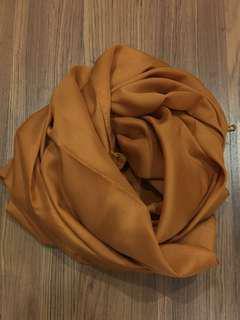 FREE Cotton crepe square scarf