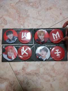 (Sealed) Monsta X The Connect World Tour Pin Button