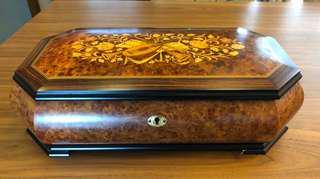 古董音樂首飾盒瑞士製造