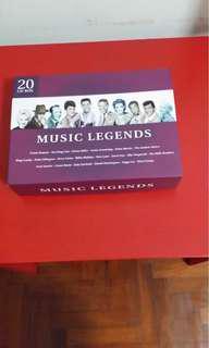 Box of 20 CDs