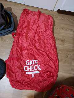 Stroller gate check bag