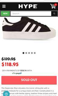 Adidas rize superstar