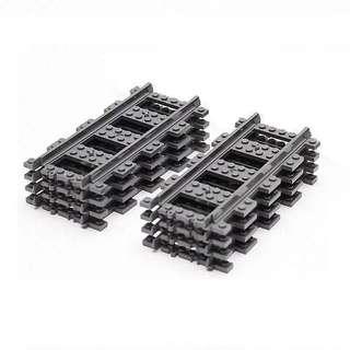 全新 Lego 直軌 8條 路軌 train