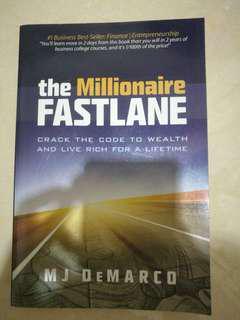The millionaire fastlane (LIKE NEW)