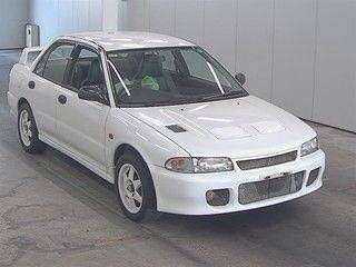 MITSUBISHI LANCER EVO I RS版 1993年 (價錢面議)