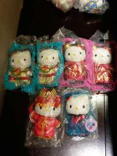Hello Kitty 公仔 每隻$20
