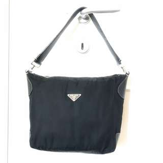 Prada Milano 1913 black nylon bag