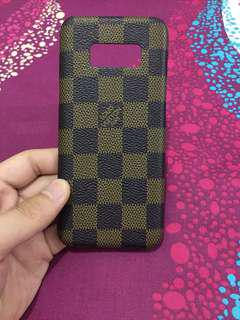 Case Softcase Hardcase Samsung S8 model LV louis vuitton