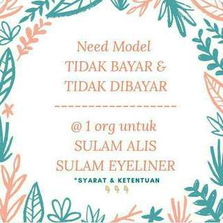 Model Sulam Alis dan Eyeliner