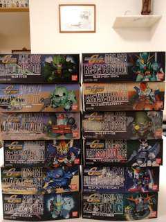 SD Gundam 12盒