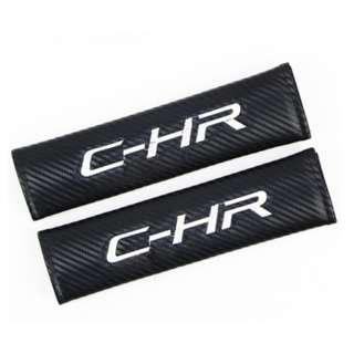 Seat Belt Cover For Toyota CHR With Embossed C-HR Logo