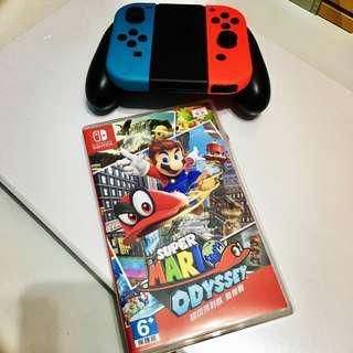 任天堂switch 超級瑪利歐奧德賽 Super Mario Odyssey Nintendo