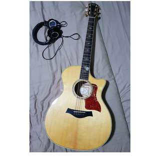 FS: Taylor 614ce solid maple guitar