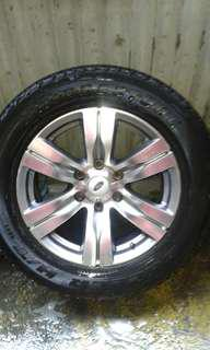 18 inch mags and tires