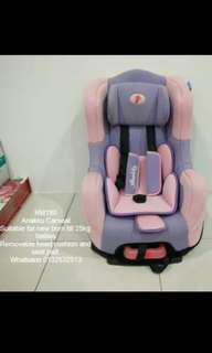 Car Seat Anakku Pink
