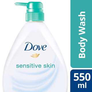 Original Dove Sensitive Skin Body Wash