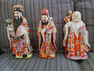 God of fortune, prosperity and longevity