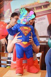 SUPERMAN SUPERHERO COSTUME