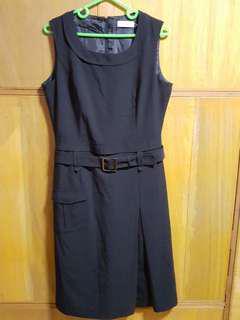 Calvin Klein vintage black dress