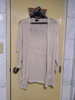 H&M cream knitted cardigan