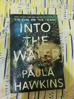 Novel import into the water by paula hawkins