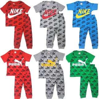 Ready Stock Kids Pyjamas (1-6yrs)