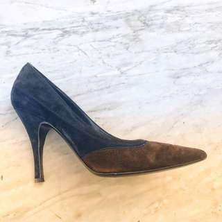 Salvatore Ferragamo shoes in blue