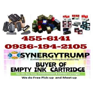 Highest Buying Price Brand new Expired Overstock Unused Buyer of Empty Ink Cartridges and Toner