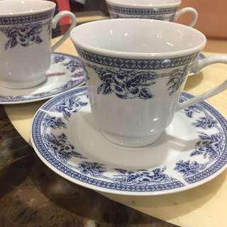 (As New) Porcelain Cup and Saucer