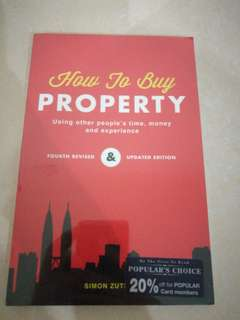 How to buy property (NEW, WRAPPED, NEVER OPEN)