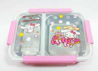 💕分隔不鏽鋼餐盒(3款) $150/個 容量:約980ml 耐熱:-20度~100度 台灣直送✈️「預訂」