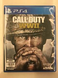 PS4 Call of Duty WWll