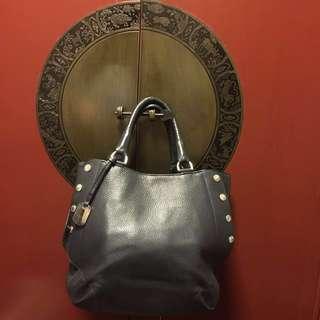 SALE🌟Auth FURLA pre-loved black leather versatile bag