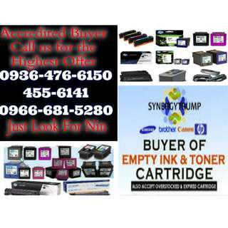 Accredited Buyer Highest Buying Price Buyer of Empty Ink Cartridges and Toner