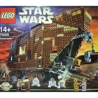 MISB Lego 75059 Star Wars UCS Sandcrawler Building Toy - 3296 pieces