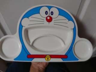 日本製造 叮噹 多啦A夢兒童食物碟kids children eating plate