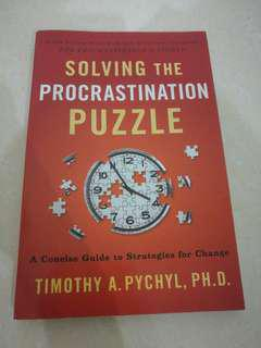 Solving the procrastination puzzle (Personally recommend) Ask me for price!