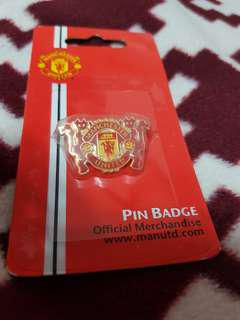 Authentic Manchester United 2 Devils Pin Badge