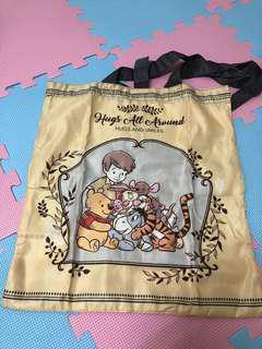 🚚 迪士尼 購物袋 環保袋 小熊維尼 維尼 迪士尼樂園代購