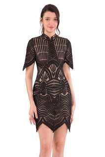 BNWT Doublewoot Black Lace Dress